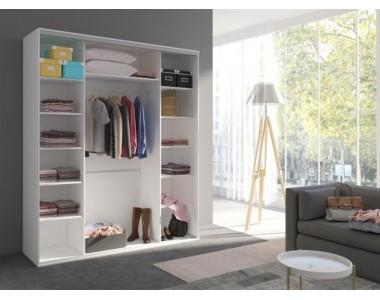 SZAFY - Przesuwne, narożne i uchylne do sypialni, przedpokoju i garderoby