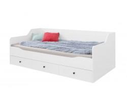 BERGEN - Łóżko z szufladami 90x200 cm (13) bez materaca
