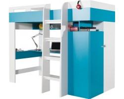 MOBI - Łóżko 90 z biurkiem bez materaca (M020)