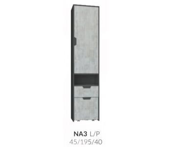 NANO - Regał  zamknięty (3)