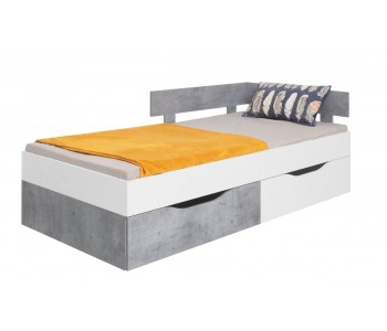 SIGMA - Łóżko 90 / 200 cm (SI15) bez materaca