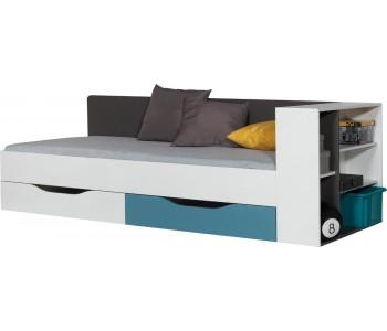 TABLO - Łóżko 90 bez materaca z półką (TA 12A   12 B)