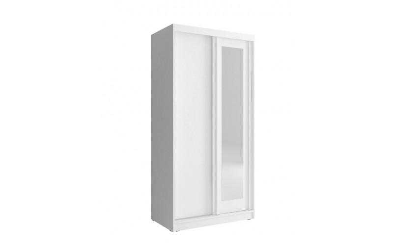 ALASKA - Szafa z lustrem 100 cm