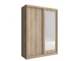 ALASKA - Szafa z lustrem 150 cm
