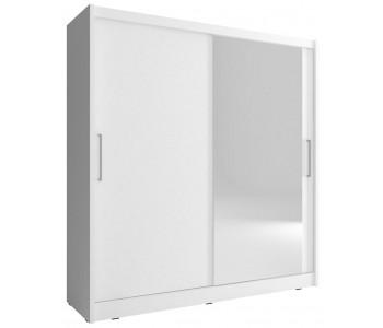 MAJA 1 - Szafa z lustrem 180 lub 200 cm