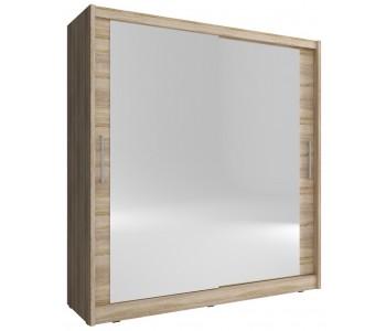 MAJA 6 - Szafa z dwoma lustrami 180 lub 200 cm