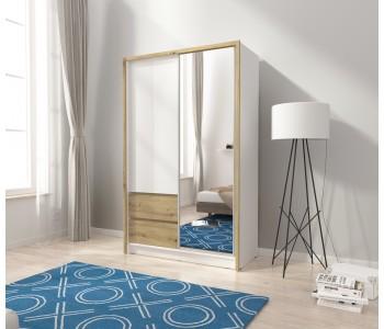 SARA - Szafa z lustrem 130 cm