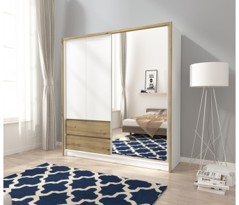 SARA - Szafa z lustrem 200 cm
