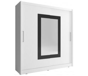 WIKTORIA 2 - Szafa z lustrem 180 lub 200 cm