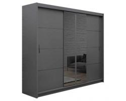 PORTO 2 - Szafa przesuwna 250 x 215 3D