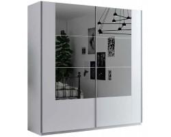 SANTIAGO S - Szafa przesuwna 200 x 215  2D z lustrem
