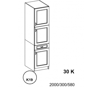 Bianka - Słupek 30 cm