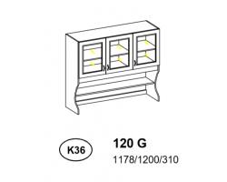 Kredens - Szafka górna 120 cm (k36)
