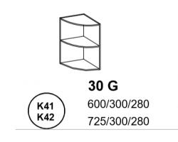 Bianka - Szafka górna 30 cm (k41 / k42)