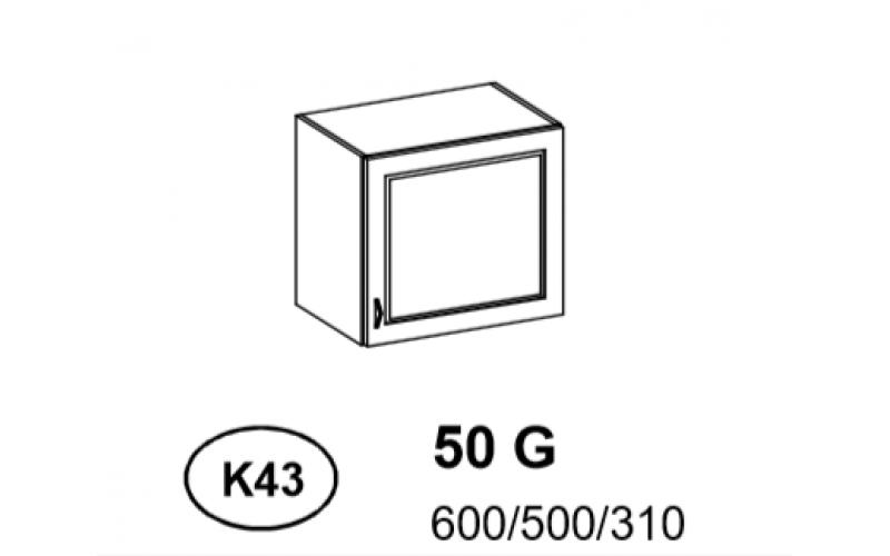 Bianka - Szafka górna 50 cm (k43)