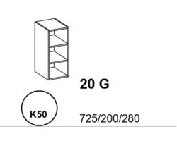 Bianka - Szafka górna 20 cm (k50)