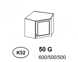 Bianka - Szafka górna narożna (k52)