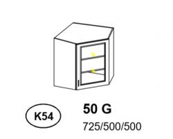 Bianka - Szafka górna narożna (k54)