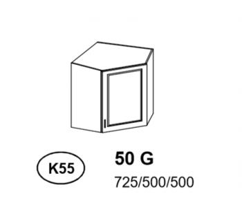 Bianka - Szafka górna narożna (k55)