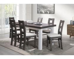 Stół S20 FORNIR – 140 x 80 + wstawka 40 cm
