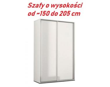 SZAFY NA WYMIAR - WYSOKOŚĆ OD ~150 DO 205 CM