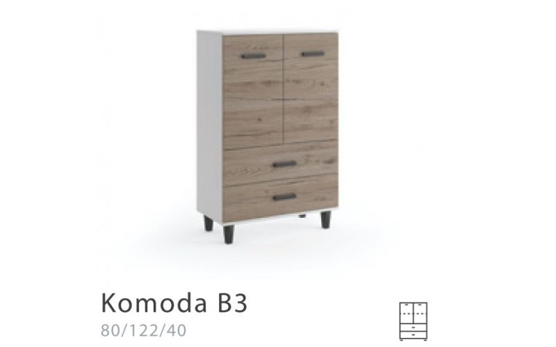 BLANKA - Komoda 80