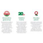 Szafa przesuwna ZUZIA SEVROLL nr 8 -  szer 80-160, wys 200 i 220 - 12 kolorów