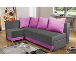 Sofa MANGO Z PUFĄ