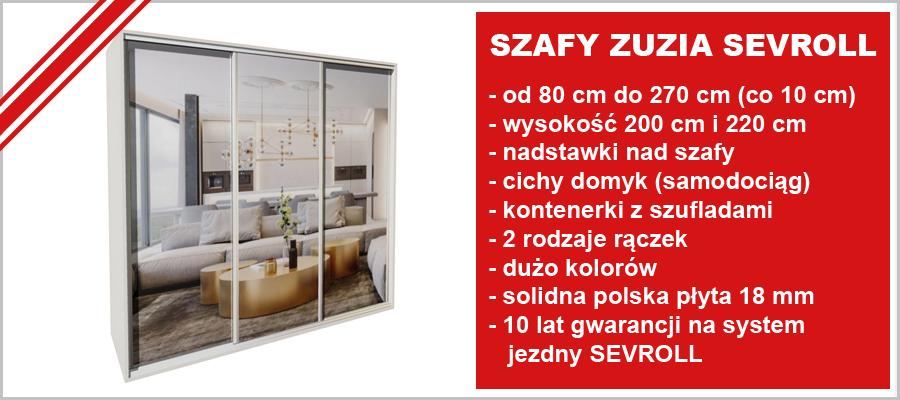 Szafy Zuzia Sevroll